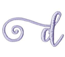 Starstruck Alphabet Left Tail d