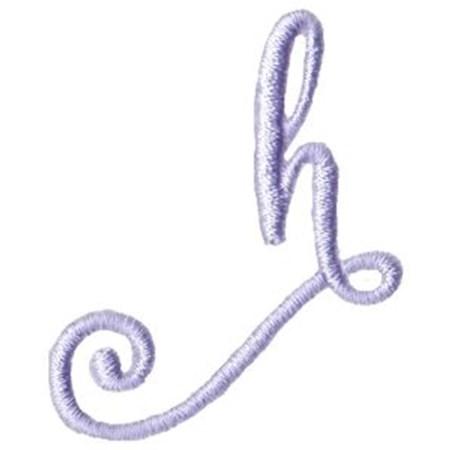 Starstruck Alphabet Right Tail h