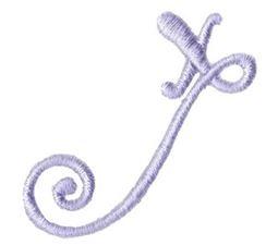 Starstruck Alphabet Right Tail x