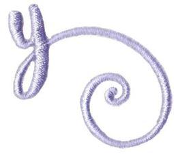 Starstruck Alphabet Right Tail y