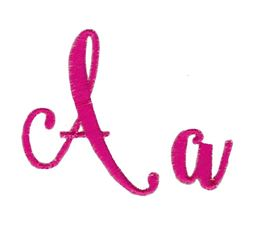 Steelheart Embroidery Font A