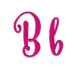 Steelheart Embroidery Font B