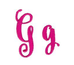 Steelheart Embroidery Font G