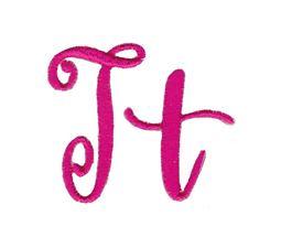 Steelheart Embroidery Font T