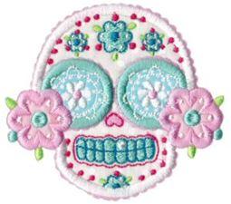 Sugar Skulls Applique 8