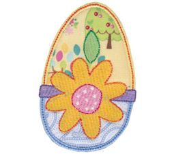 Sweet Eggs Applique 9