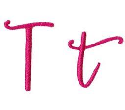 Sweet Peony Font T