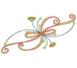 Swirly Autumn 5x7 12