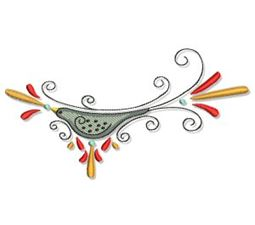 Swirly Autumn 5x7 2
