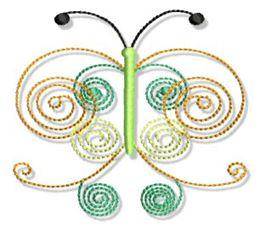 Swirly Butterflies 11