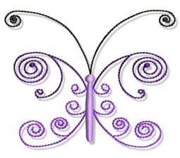Swirly Butterflies 17