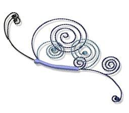 Swirly Butterflies 6