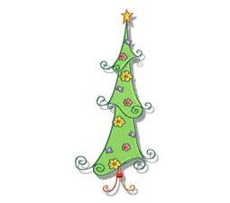Swirly Christmas 1