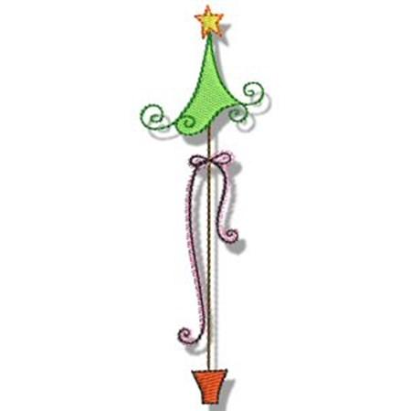 Swirly Christmas 4