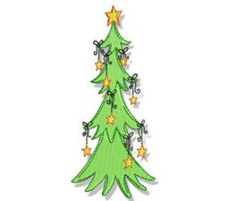 Swirly Christmas 8