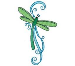 Swirly Dragonflies 10