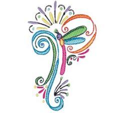 Swirly Dragonflies 12