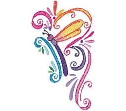 Swirly Dragonflies 6