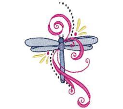 Swirly Dragonflies 8