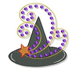 Swirly Halloween Doodads 5x7 19