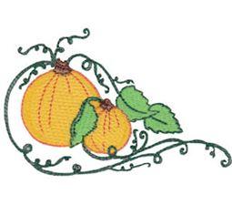 Swirly Pumpkin 13