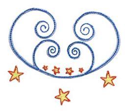 Swirly Stars 1