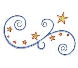 Swirly Stars 11
