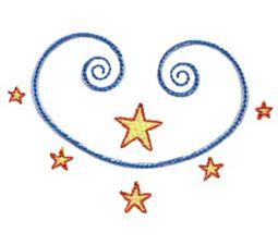 Swirly Stars 2