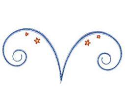 Swirly Stars 6