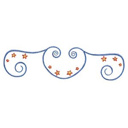Swirly Stars 8