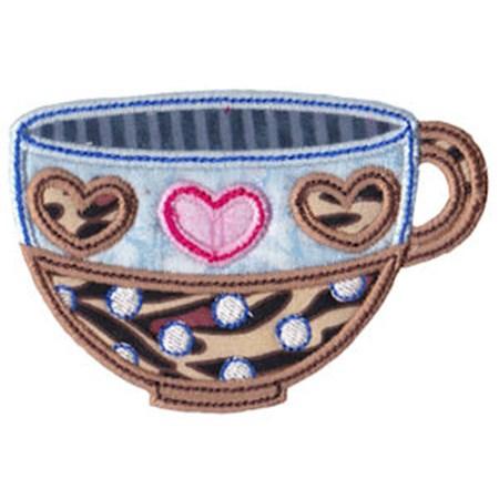 Time For Tea Applique 11
