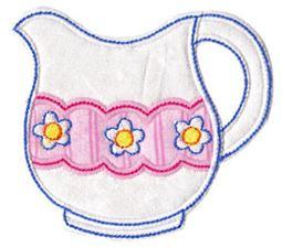Time For Tea Applique 3