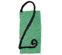 Tiny Blocks Alphabet Number 2