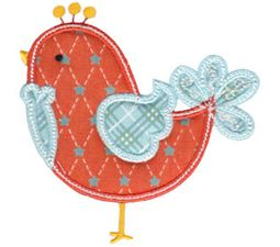 Tweet Thing Applique 10