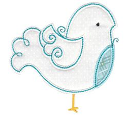 Tweet Thing Applique 9