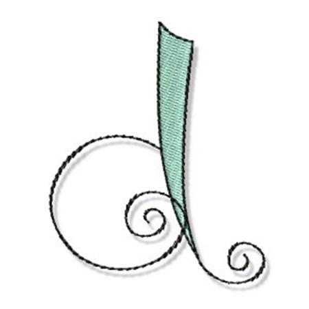 Whimsy Alphabet Lower Case D