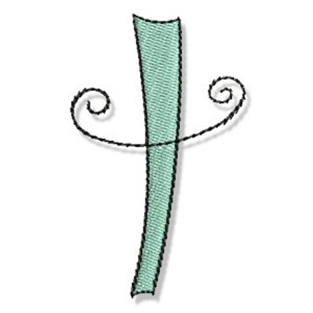 Whimsy Alphabet Lower Case T