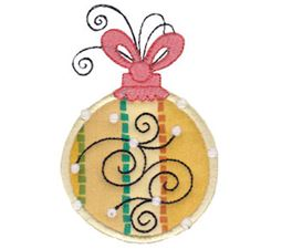 Whimsy Ornaments Applique 1