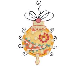 Whimsy Ornaments Applique 12