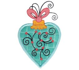 Whimsy Ornaments Applique 17