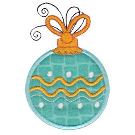 Whimsy Ornaments Applique 2