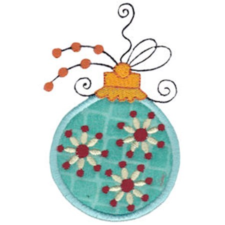 Whimsy Ornaments Applique 21