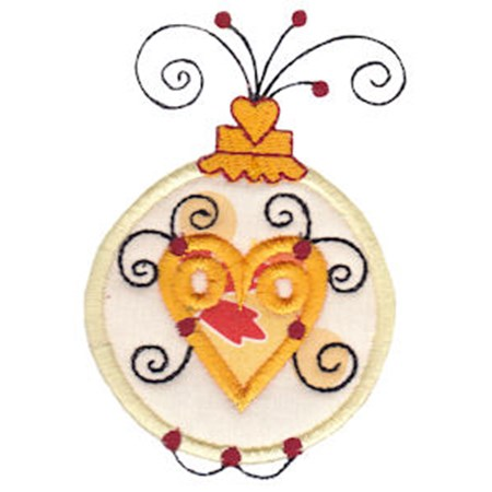 Whimsy Ornaments Applique 3