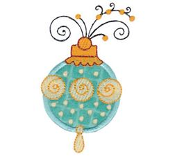 Whimsy Ornaments Applique 8