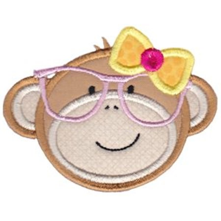 Monkey 2 Applique