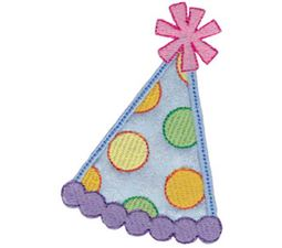 Party Hat Applique