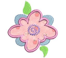 Funky Flowers Applique 3