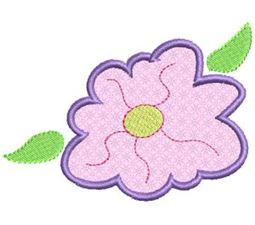 Funky Flowers Applique 8