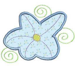 Funky Flowers Applique 9