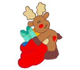Winter Reindeer 4